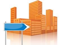 Signalroad urban Stock Photo