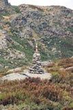 Signalweg Stockbild