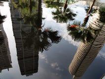 signapore ουρανοξύστες Στοκ εικόνα με δικαίωμα ελεύθερης χρήσης