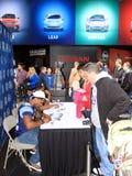 Signature d'autographes d'argonautes de Toronto Images stock