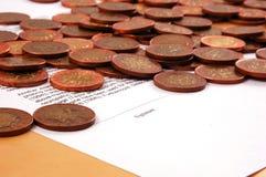 Signature of profitable contract Stock Photo