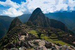 Signature shot of Machu Picchu Royalty Free Stock Photography