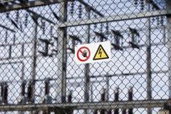 Signaux d'avertissement Images libres de droits