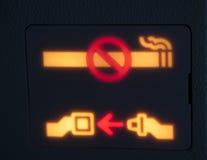 Signaux d'avertissement Image libre de droits
