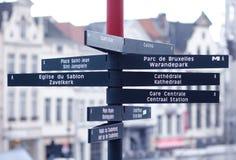 Signaux de direction Photo stock