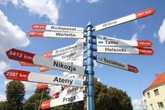 Signaux de direction Images stock