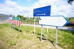 Signaux de direction Images libres de droits