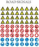 Signaux de route Photographie stock