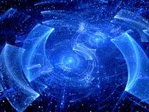 Signaux des galaxies éloignées illustration stock