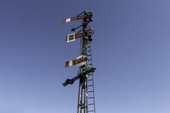 Signaux ferroviaires Photographie stock