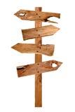 signboard деревянный стоковые изображения rf