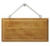 signboard деревянный стоковая фотография rf
