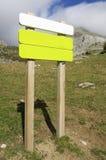 signboard royaltyfria bilder
