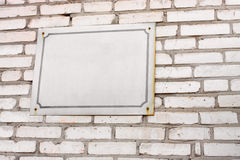 Signboard Royalty Free Stock Photography