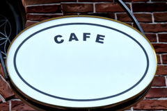 Signboard: Cafe Stock Photo