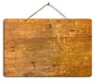 signboard för clippingbana Arkivfoto