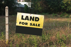 Free Signboard Land For Sale Royalty Free Stock Images - 89046469