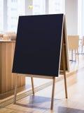 Signboard Stand Chalkboard Frame Restaurant Shop Menu Stock Images