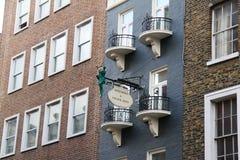 Signboard w Londyn Zdjęcie Stock