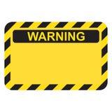 Signe à haute tension d'avertissement illustration stock