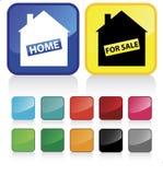 Signe à la maison 1 Photos stock
