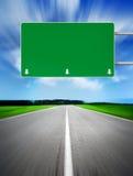 Signe à la route Image libre de droits