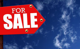 Signe à vendre Image libre de droits