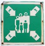 Signe étrange Photo libre de droits