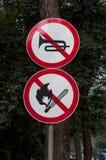 Signe photos libres de droits