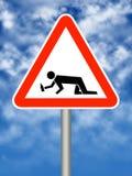 Signe Photographie stock libre de droits