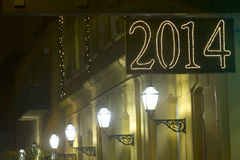 signe 2014 Photographie stock