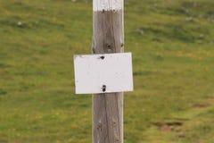 Signe 3 Photos libres de droits