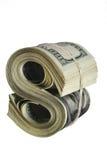 Signe abstrait du dollar Images libres de droits