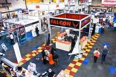 Signe Afrique 2010 - stalle de faucon Photo stock