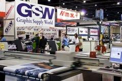 Signe Afrique 2010 - stalle de GSW Image stock