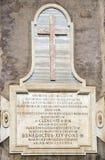 Signe Amphitheatrum Flavium, Colosseum rome Images stock