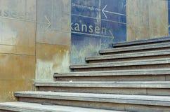 Signe au musée de Scansen Image libre de droits