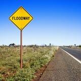 Signe Australie de Floodway