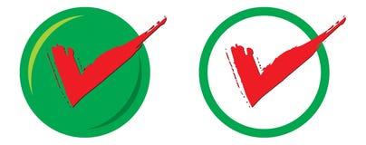 Signe avec le cercle Illustration Libre de Droits