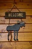 Signe bienvenu Photo libre de droits