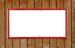 Signe blanc images stock