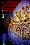 Signe bouddhiste d'art de Rattanakosin de la Thaïlande images libres de droits