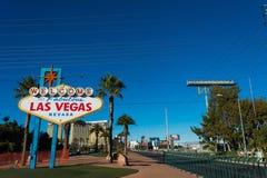 Signe célèbre de Las Vegas Photographie stock