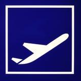 Signe d'aéroport Images stock