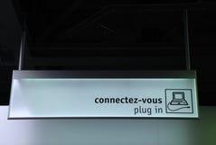 Signe d'accès d'Internet images libres de droits