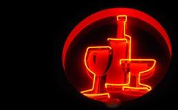 Signe d'alcool Photo stock