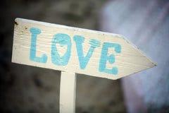 Signe d'amour Photos libres de droits