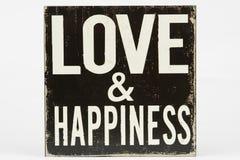 Signe d'amour et de bonheur Photos libres de droits