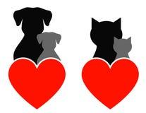 Signe d'animal familier Images libres de droits