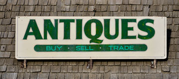 Signe d'antiquités image libre de droits